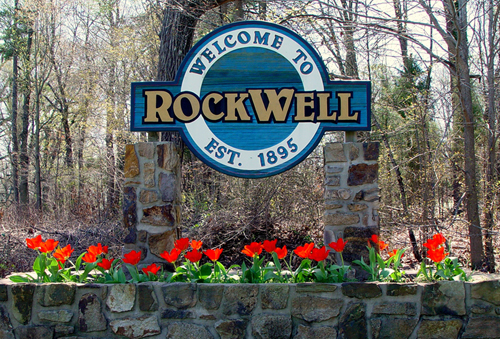 Welcome to Rockwell, N.C.